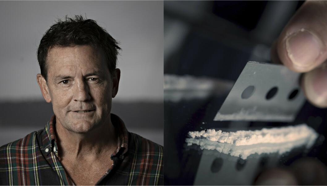 Intervjuet Willoch i kokainrus