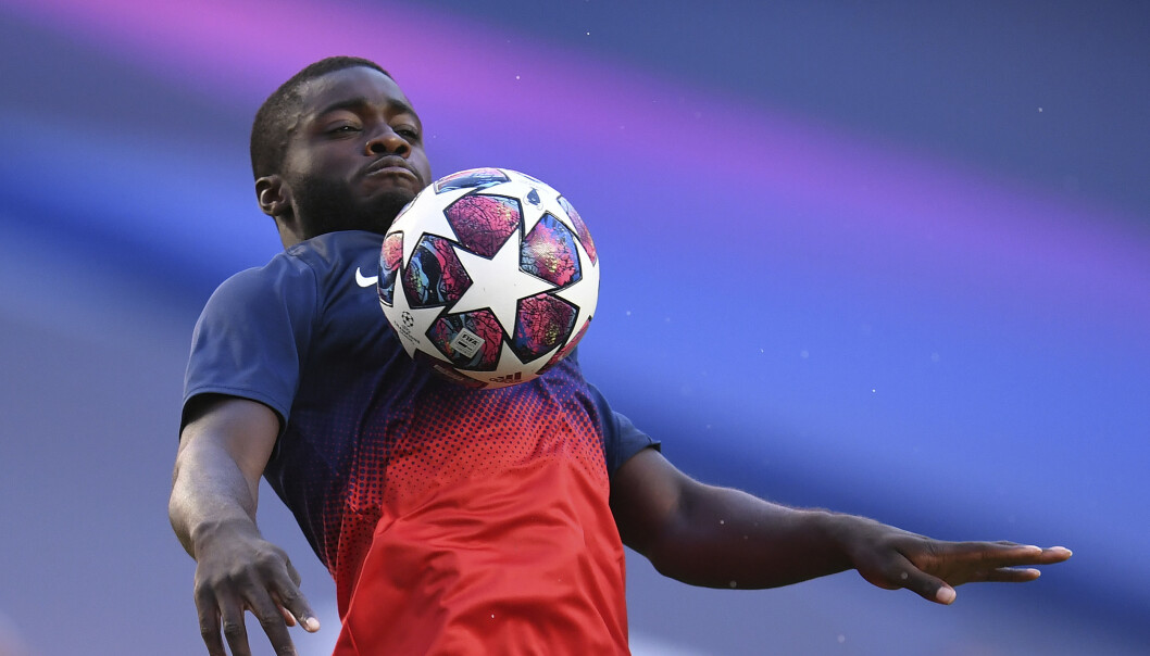 <strong>ETTERTRAKTET:</strong> Dayot Upamecano. Foto: David Ramos/Pool Photo via AP/NTB Scanpix