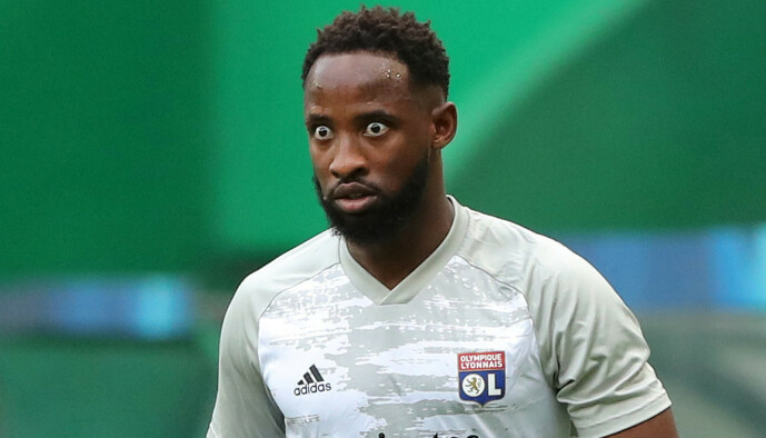 <strong>I LYON:</strong> Moussa Dembélé. Foto: Miguel A. Lopes/Pool via REUTERS/NTB Scanpix