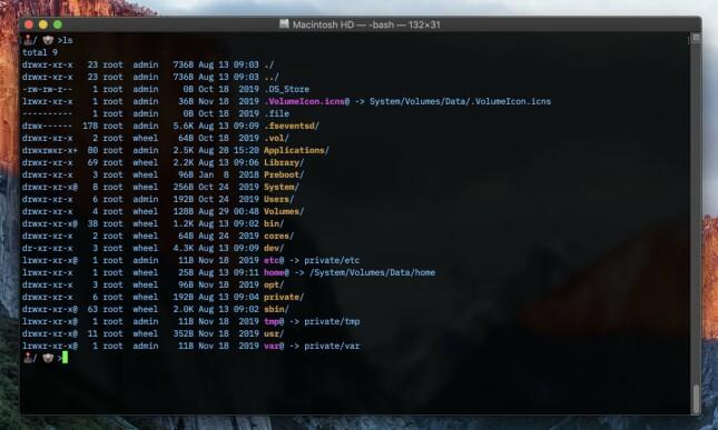 Mac OS-terminalen føles ganske bekymringsløs. 📸: Jørgen Jacobsen