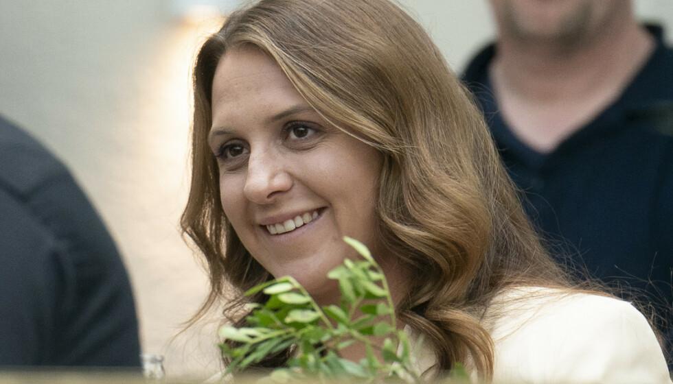 <strong>HYLLES:</strong> Emilie Stordalen deltok torsdag i sitt første direktesendte tv-intervju. Der åpnet hun seg om barndommen og hyllet sin tidligere stemor. Foto: NTB scanpix