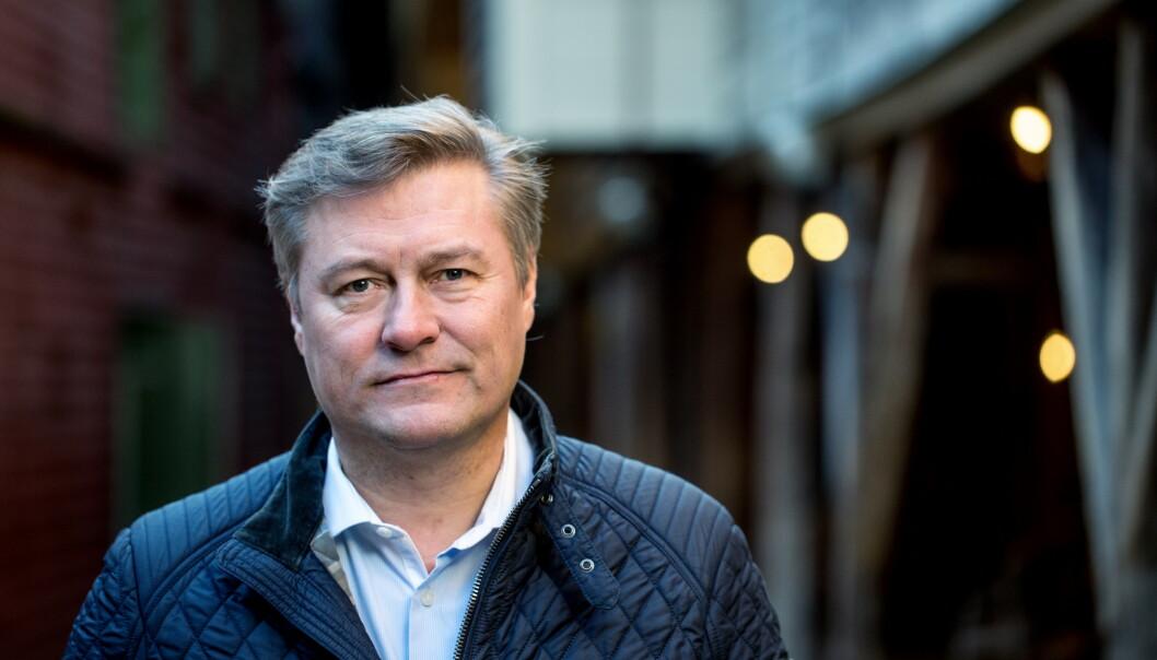 <strong>BRYTER TAUSHETEN:</strong> Idar Vollvik beklager overfor kunder. Vollvik er siktet for brudd på loven om medisink utstyr. Foto: Eivind Senneset / Dagbladet.