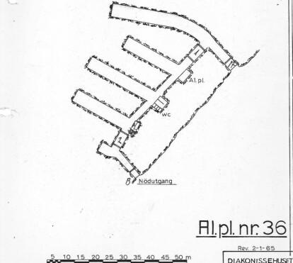 <strong>LABYRINT:</strong> Bunkeren består av flere ganger og rom. Den lengste av dem omkring 50 meter. Foto: Stiftelsen Diakonissehuset Lovisenberg / NTB scanpix