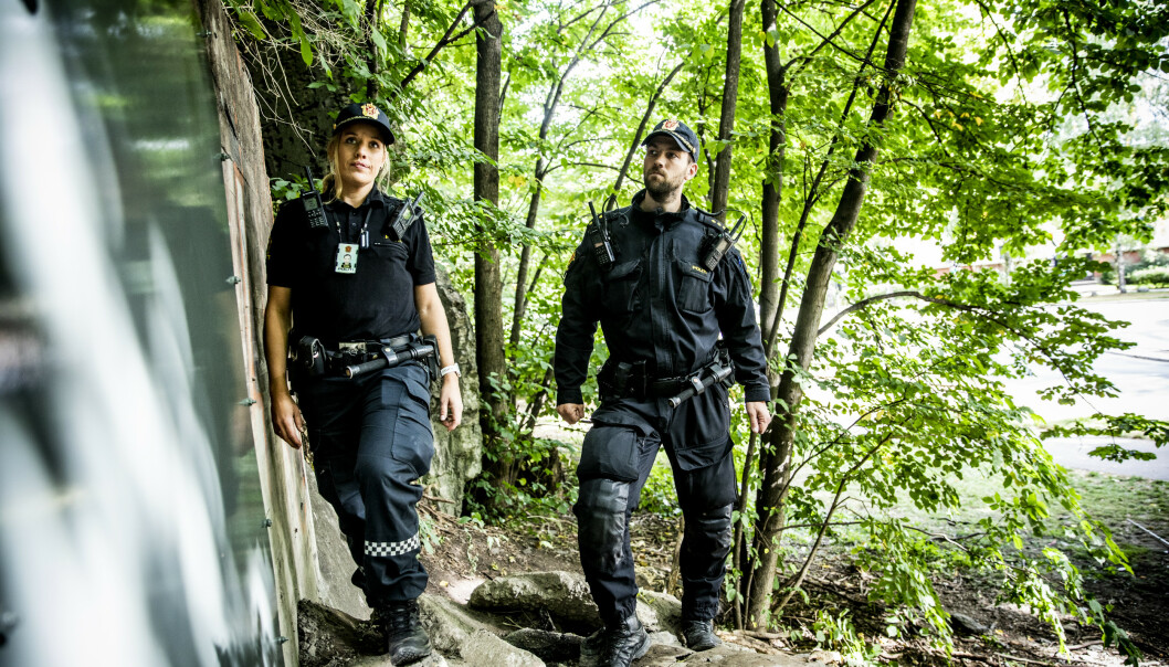 Politiets livsfarlige minutter i grotta