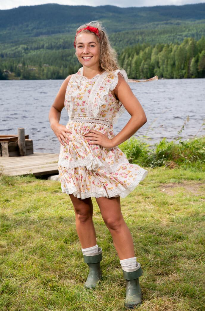 <strong>GODE TIPS:</strong> Som venninna til Anniken Jørgensen har Karianne Vilde Wølner fått flere nyttige tips før gårdsoppholdet. Foto: Alex Iversen / TV 2