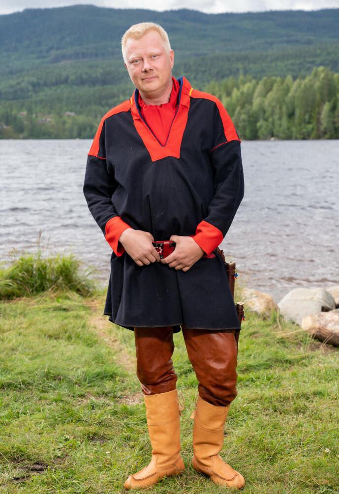 <strong>MYE ERFARING:</strong> Nils Kvalvik fra Karasjok har mye erfaring som kan være nyttig på gården, og håper på mer tv-tid som følge av «Farmen». Foto: Alex Iversen / TV 2