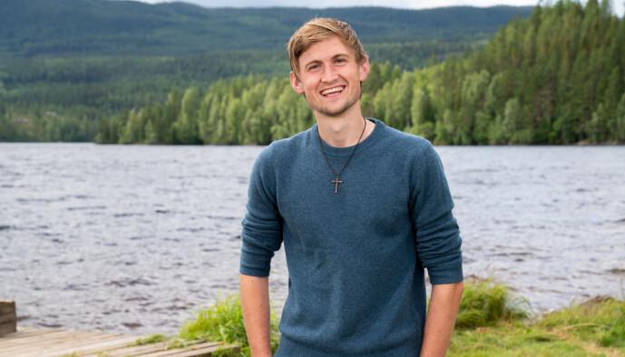 <strong>VIL VELSIGNE:</strong> Thor Haavik er tydelig engasjert i troen, noe han ikke legger skjul på. Foto: Alex Iversen / TV 2
