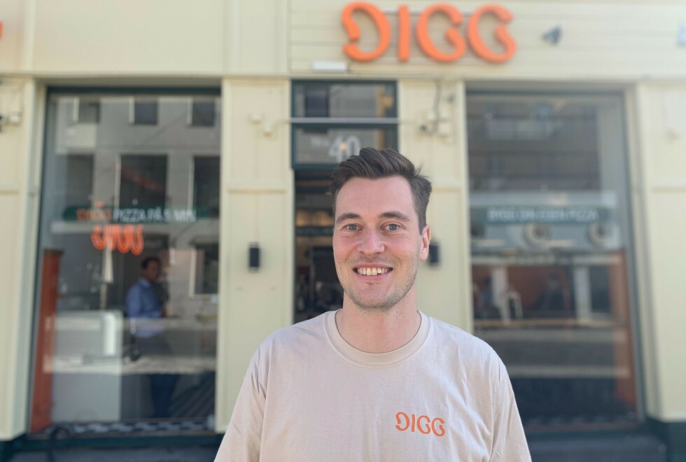 <strong>BILLIGPIZZA:</strong> Selskapet bak suksesshistoriene Dr Dropin, Cutters og Squeeze tar steget inn i restaurantbransjen med Digg, forteller daglig leder Gaute Erdal Bakke.