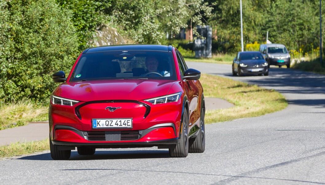 <strong>I NORGE:</strong> Ford Mustang er i disse dager på tester rundt om i Norge. Foto: Ford