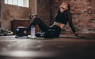 Image: Bør du trene når du er skikkelig støl?