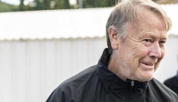 <strong>TILBAKE:</strong> Åge Hareide leder sin første Rosenborg trening på Lerkendal.    Foto: Hans Arne Vedlog / Dagbladet