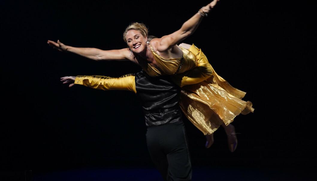 <strong>TIL TOPPS:</strong> Birgit Skarstein fikk kveldens høyeste poengsum. Foto: Espen Solli/TV 2