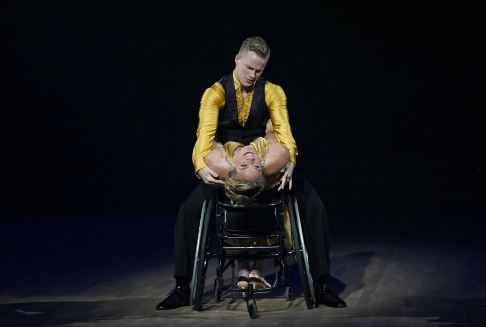 <strong>RØRTE ALLE:</strong> Birgit Skarstein sto for en opptreden som etterlot seg få tørre øyekroker. Foto: Espen Solli / TV 2