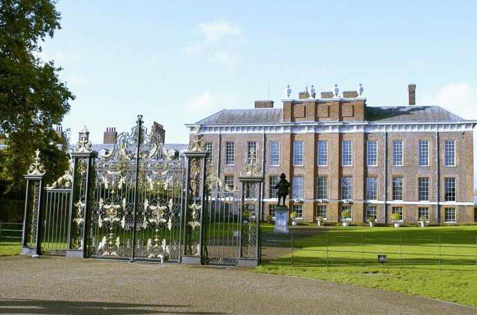 <strong>KENSINGTON PALACE:</strong> Her bor hertuginne Kate og prins William sammen med deres tre barn, prins George, prins Louis og prinsesse Charlotte. Foto: NTB Scanpix