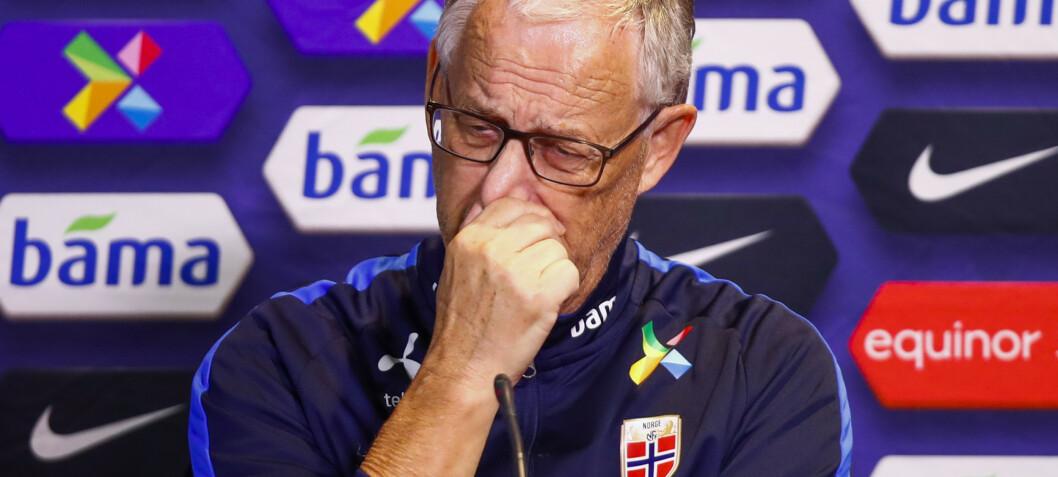 Lars Lagerbäck har faktisk ikke noe valg