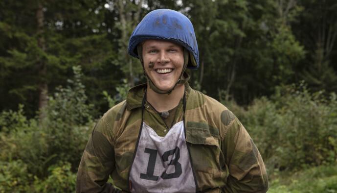 <strong>I FORM:</strong> Vegard Harm har de siste to åra trent regelmessig, med god hjelp fra treningsprofilen Jørgine Massa Vasstrand. Foto: Matti Bernitz/TV 2