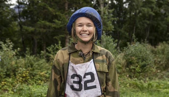 <strong>VIL SAVNE SOFALIVET:</strong> Vida Lill Berge forteller at sofa, vin, ostepop og reality-tv har vært hennes følgesvenner den siste tida. Foto: Matti Bernitz/TV 2