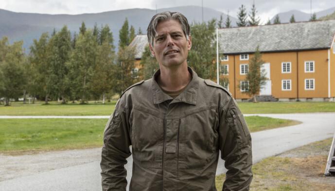 <strong>KLAUSTROFOBISK:</strong> Lærer Håvard Tjora gruer seg til å møte på trange rom. Foto: Matti Bernitz/TV 2