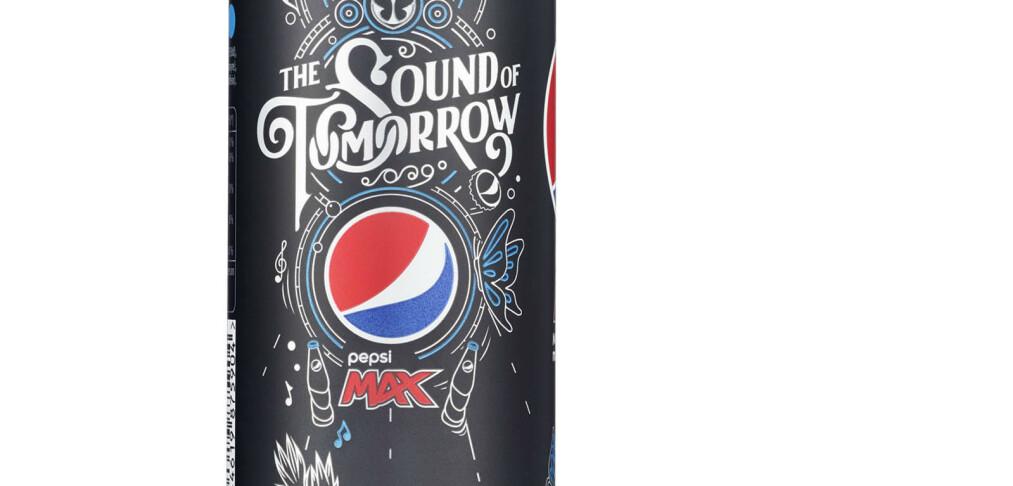 Dette er spesielt med denne Pepsi Max-en