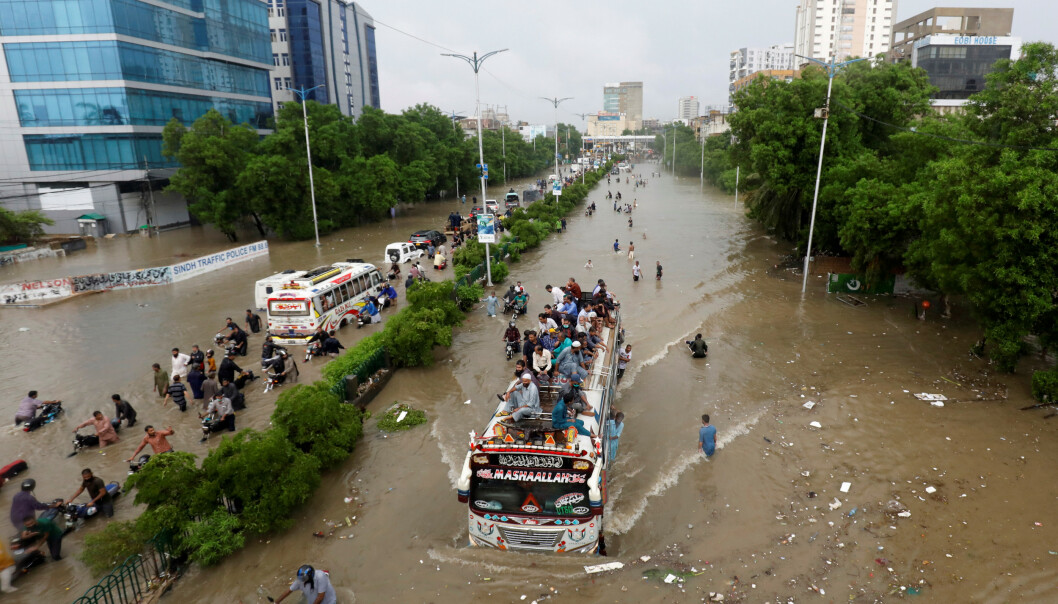 Studie: De fleste coronasmittede i Karachi var symptomfrie