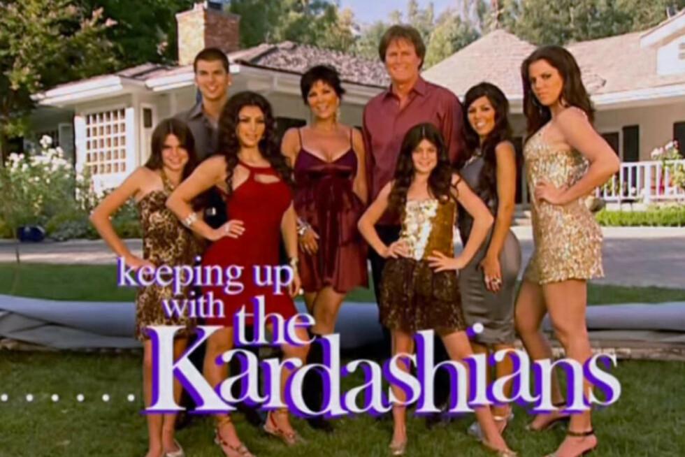<strong>SLUTT FOR KARDASHIANS:</strong> Etter 20 sesonger, takker Kardashian-familien for seg. FOTO: E!