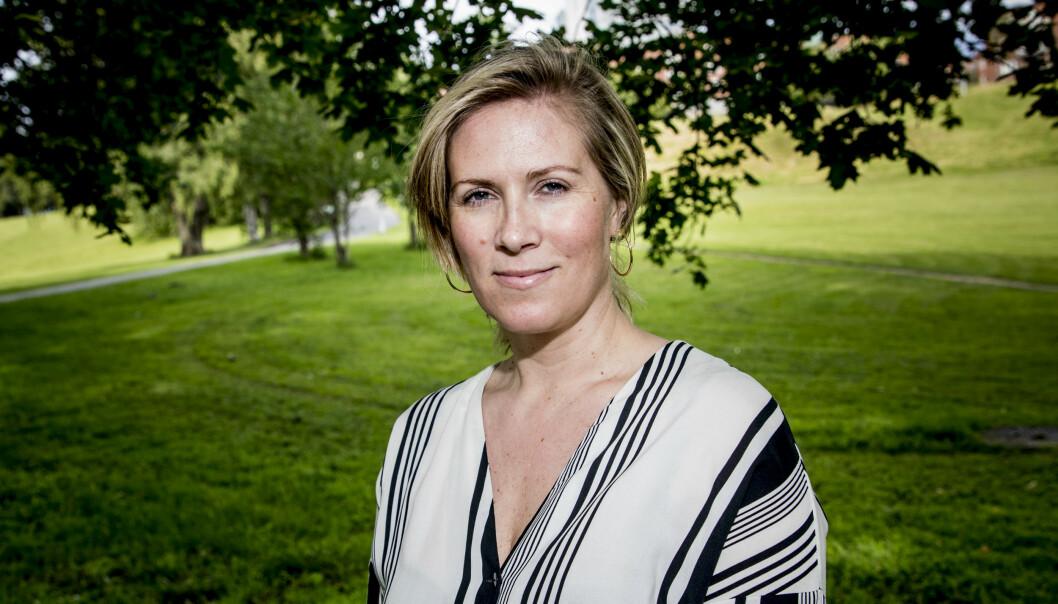 <strong>KOMMENTERER:</strong> Karin Madshus er journalist i Vi.no. Foto: Christian Roth Christensen