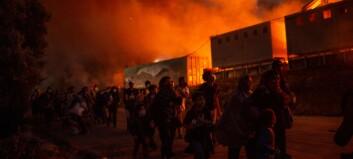 Nye branner - frykter voldelige sammenstøt