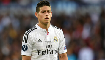 <strong>KUPP:</strong> James Rodriguez. Foto: Pa Photos