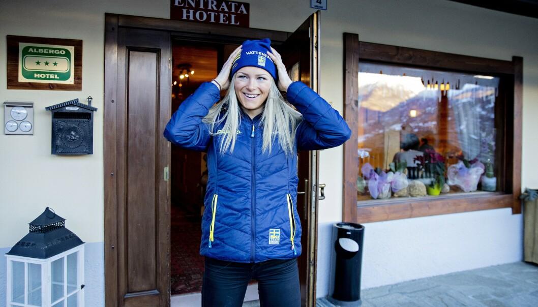 <strong>HAR TATT GREP:</strong> Livet smiler igjen for Frida Karlsson. Foto: Bjørn Langsem / Dagbladet