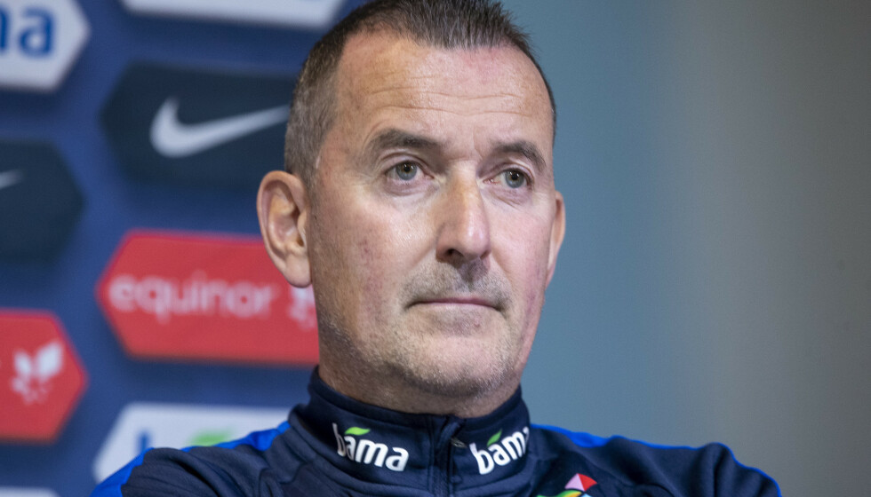 <strong>FORNØYD:</strong> Per Joar Hansen er fornøyd med hvordan det norske laget har taklet coronaprotokollen. Foto: Terje Pedersen / NTB scanpix