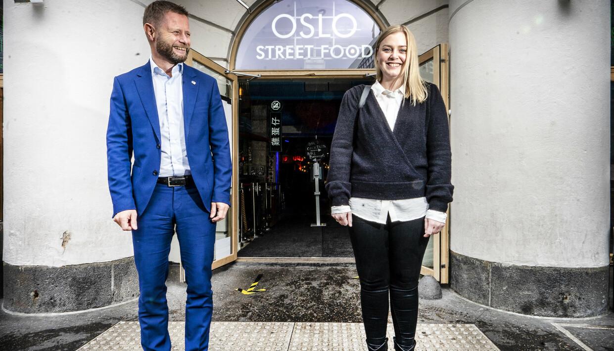 <strong>NY TOPP:</strong> Tina Bru beskriver Bent Høie som sin politiske mentor. Foto: Hans Arne Vedlog /Dagbladet