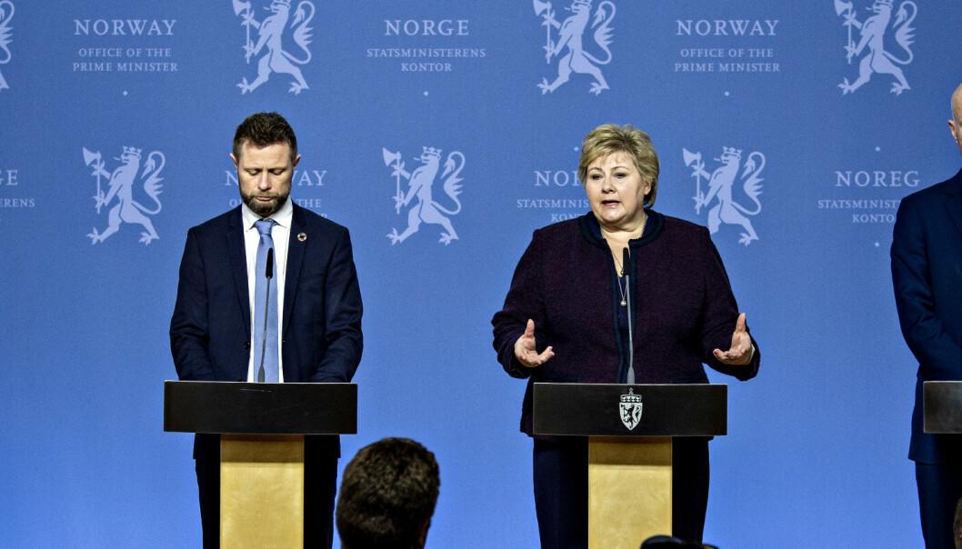 Norge preges av alvor igjen