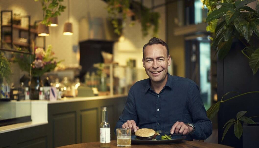 <strong>ORKLA-SJEF:</strong> Jaan Ivar Semlitsch er administrerende direktør i Orkla. Han forteller at Ola og Kari Nordmanns matvaner er i ferd med å endre seg drastisk. Foto: Bjørn Wad / Orkla