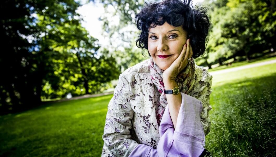 <strong>PINLIG:</strong> Lindells første bok på Stordalens forlag er hennes desidert svakeste. Foto: Christian Roth Christensen / Dagbladet
