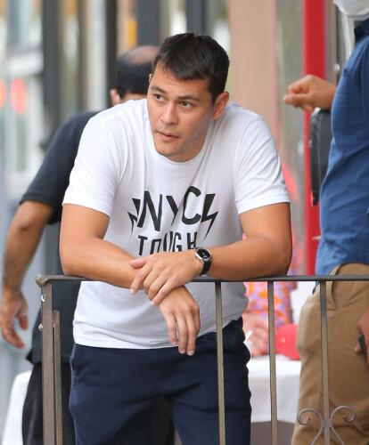 <strong>KOKK:</strong> Emilio Vitolo er pekt ut som Katie Holmes' nye kjæreste. Foto: NTB scanpix