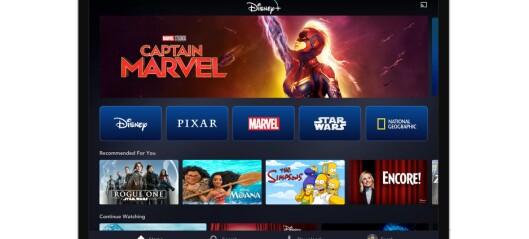 Nå er Disneys strømmetjeneste her