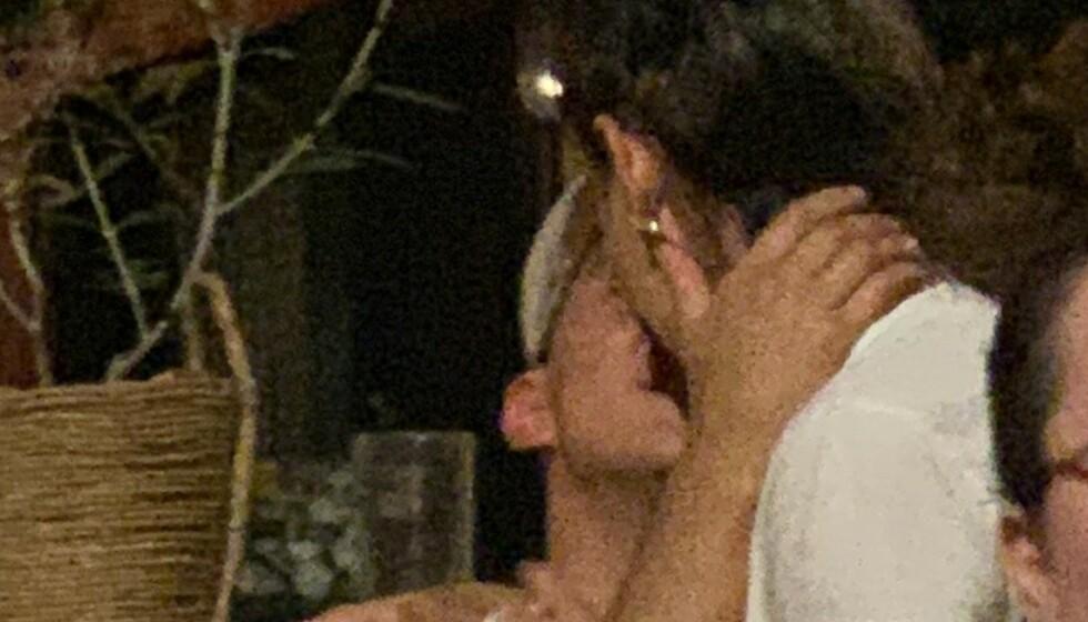 <strong>KLINTE TIL:</strong> Den siste uken har Katie Holmes blitt avbildet i het omfavnelse med kokken Emilio Vitolo. Foto: NTB scanpix