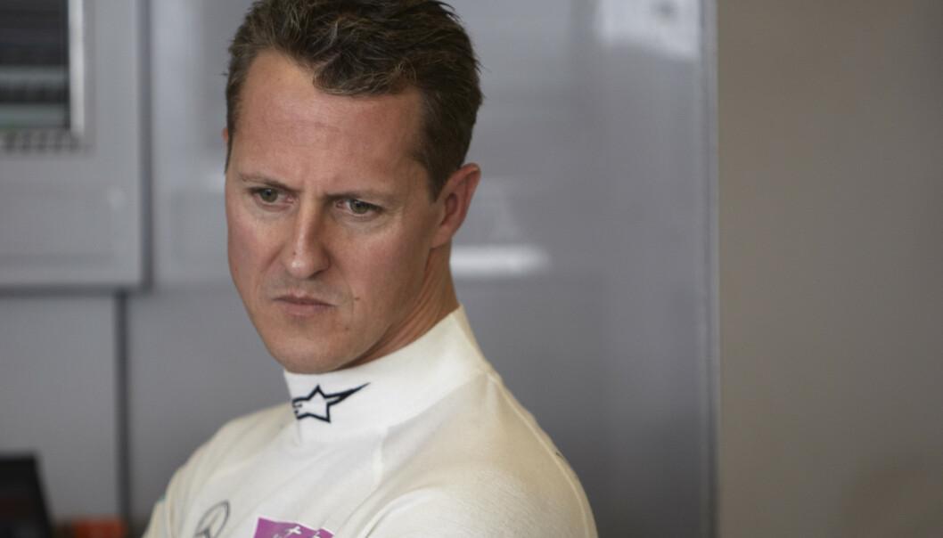<strong>SYK:</strong> Michael Schumacher (51) er holdt unna offentligheten siden ulykken i 2013. Men vi vet han ble alvorlig skadd. Foto: Lat Photographic/REX