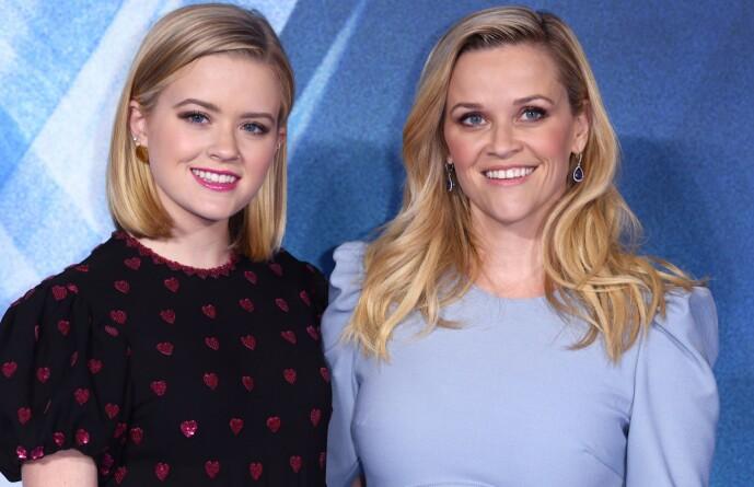 <strong>VELDIG LIKE:</strong> Det er ikke så vrient å se at Ava og Reese er i slekt. Helt siden førstnevnte var liten har hun vært klisslik kjendismoren. Foto: NTB scanpix