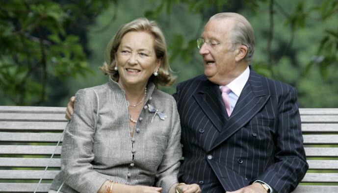 <strong>GODT GIFT:</strong> Eks-kongen har vært gift med Paola av Belgia siden 1959. De har barna Philippe, Astrid og Laurent sammen. Foto: NTB Scanpix