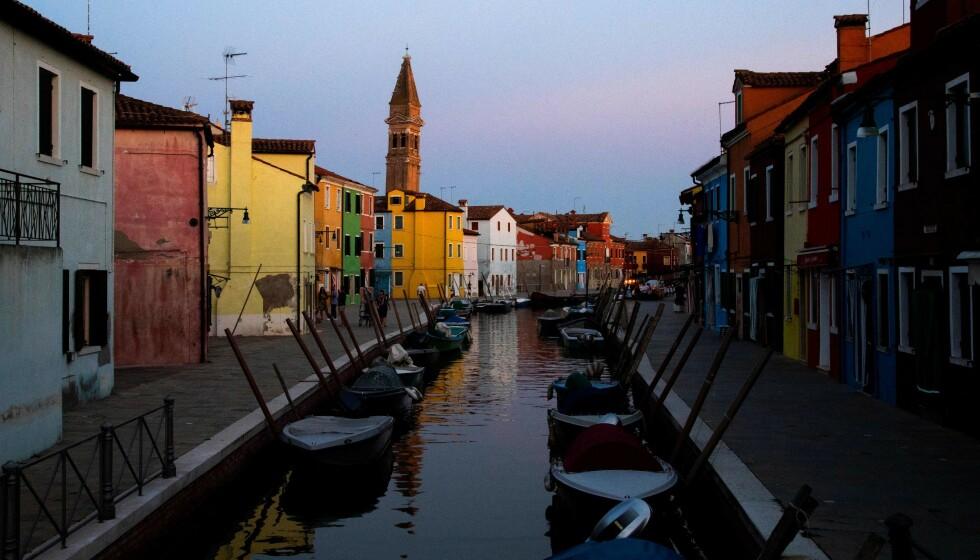 <strong>STILLE:</strong> Vanligvis travle Venezia opplever totalsvikt i turismen. Det gjør også resten av Italia. Foto: Tiziana Fabi / AFP / NTB Scanpix