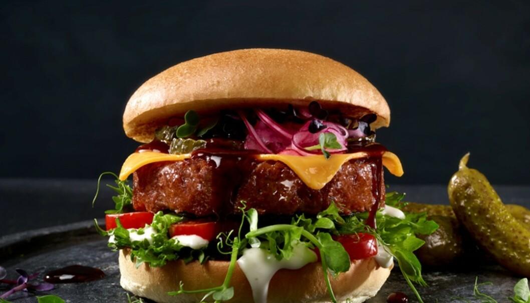 <strong>IKKE KJØTT:</strong> Vegetarburgere som er etterlikninger av konvensjonelle burgere er blant mange produkter som er i ferd med å ta av. Foto: Orkla