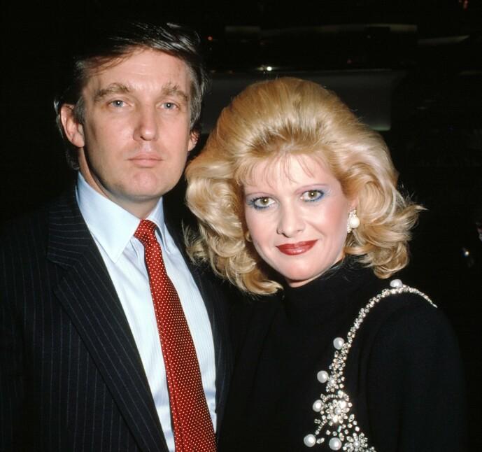 <strong>GIFT I 15 ÅR:</strong> Donald Trump og Ivana Trump skilte seg i 1992. Foto: NTB scanpix