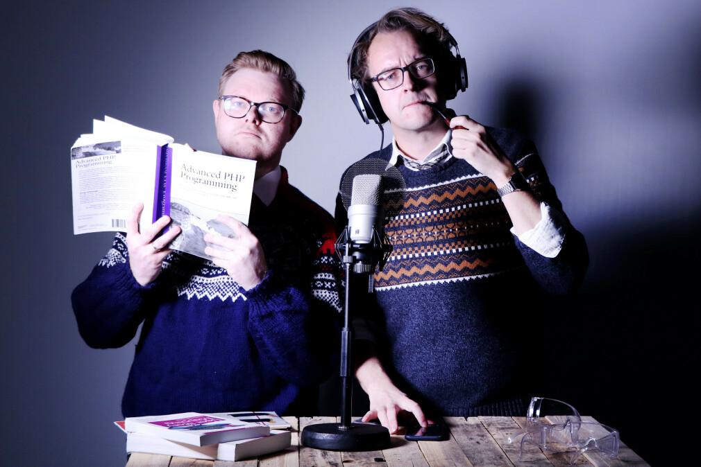 Jørgen og Ole Petter vil alltid være takknemlige til deg som hjalp oss gjennom koronaåret 2020. Tusen takk! 📸: Ole Petter Baugerød Stokke