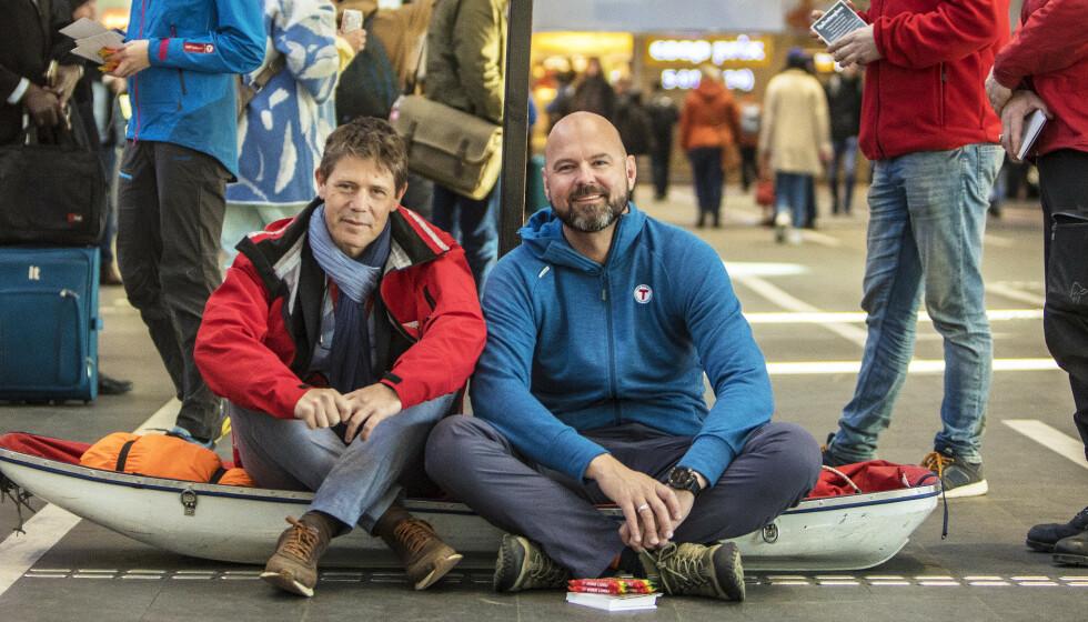 <strong>MOMS:</strong> Denne våren har nok en gang vist verdien av en sterk frivillig sektor. Kravet om full og rettighetsstyrt momskompensasjon handler om en investering i frivilligheten, slik at vi kan gjøre enda mer, skriver Bernt G. Apeland (Røde Kors), Dag Terje Solvang, (Den Norske Turistforening) og ti andre innsendere. Foto: Ole Berg-Rusten / NTB Scanpix