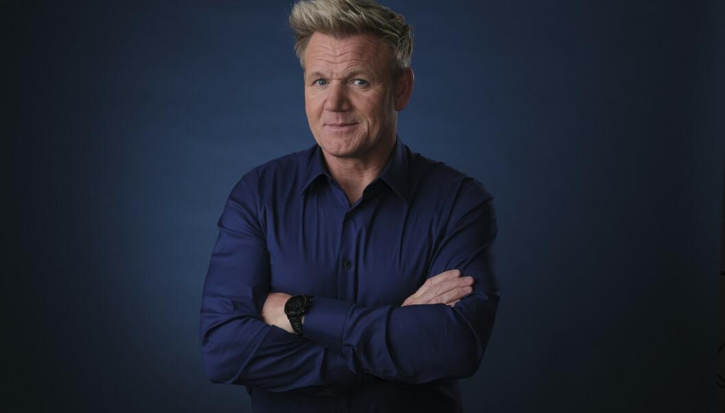 <strong>VEKKER OPPSIKT:</strong> BBC melder at Gordon Ramsay skal lede et program som ikke handler om mat. Er det karriebytte på gang? Foto: Scanpix