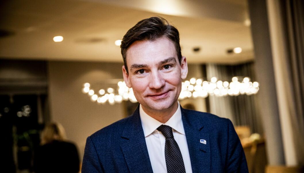 <strong>ØNSKER FORLENGELSE:</strong> Henrik Asheim (H) ønsker å forlenge vedtaket om å fjerne inntektsgrensa for en rekke studenter ut året. Foto: Christian Roth Christensen / Dagbladet