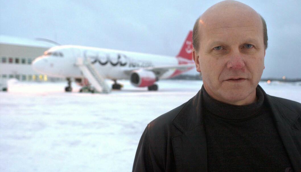 <strong>PÅ TILBUDSSIDEN:</strong> Alf Reidar Fjeld, tidligere lufthavnsjef ved Torp, har lagt et usedvanlig forslag på bordet til Færder kommune. Foto Kurt Andrè Høyessen / SCANPIX