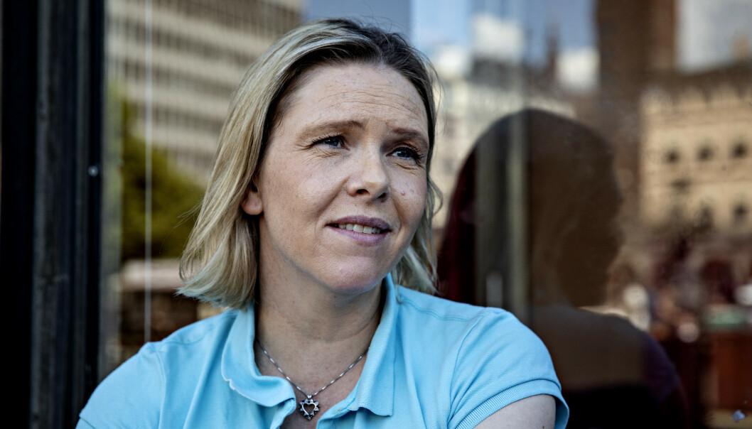 <strong>STØ KURS:</strong> Sylvi Listhaug (Frp) mener Arbeiderpartiet nok en gang har snudd i innvandrings- og flyktningpolitikken. Foto: Nina Hansen / Dagbladet