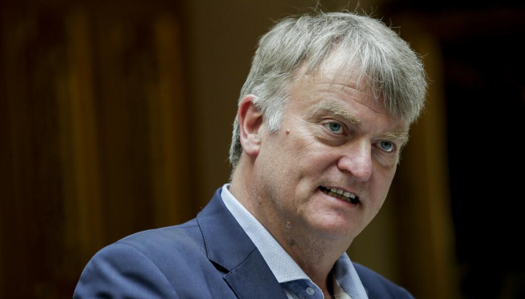 <strong>FORSTÅR INGENTING:</strong> Ove Trellevik (H) evner ikke å få tak i hva som er Arbeiderpartiets politikk. Skal de lytte til Tyskland eller kommunene? Og skal de prioritere kvoteflyktninger eller ikke? Foto: Vidar Ruud / NTB